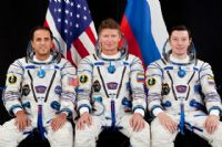 International Space Station Expedition 31 Official Crew Portrait #2